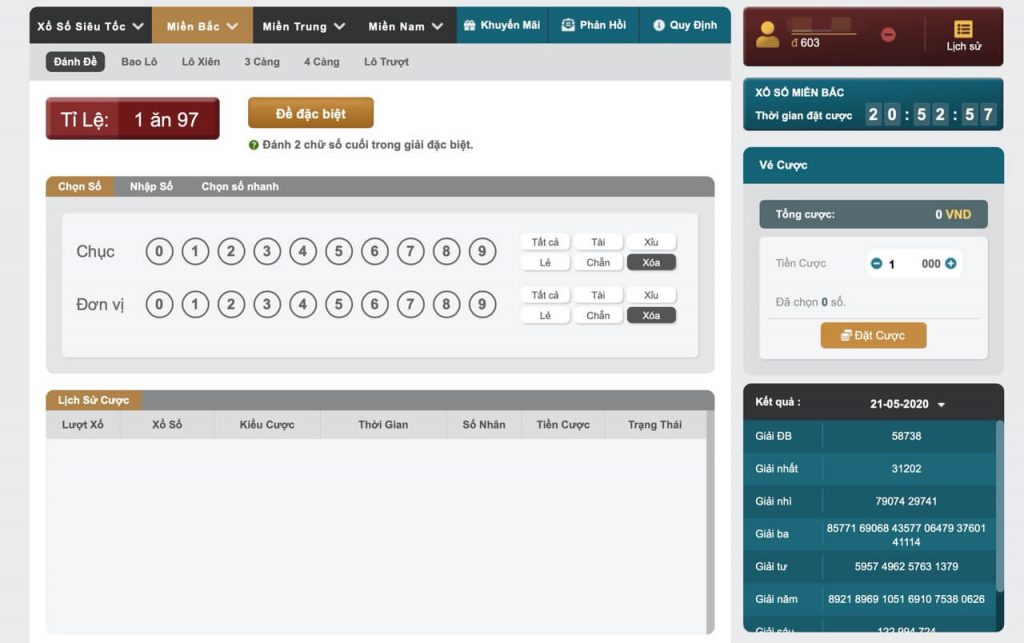 Đánh lô đề online tại K8 chỉ với một số bước đơn giản