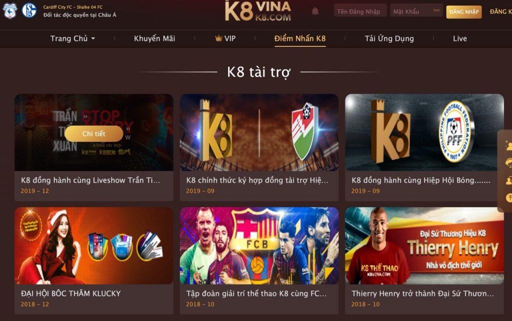 K8 là nhà cái lô đề uy tín nhất thị trường Việt hiện nay