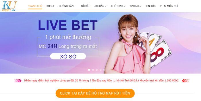 Kubet là một trong các các trang lô đề online lừa đảo đang hoạt động tại Việt Nam