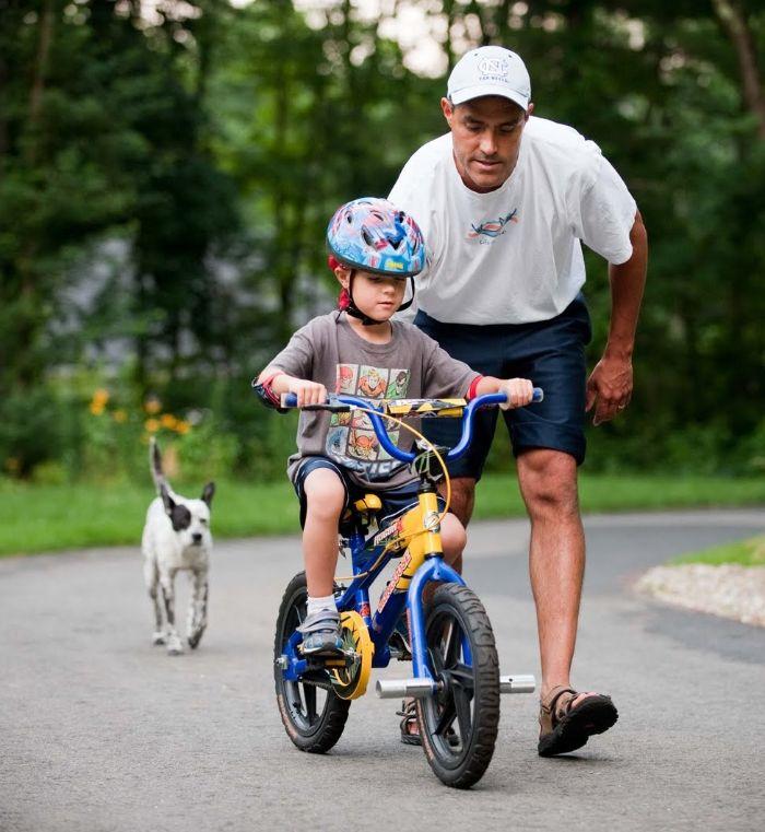 Khi mơ thấy mình dạy con đi xe đạp hãy thử vận may với cặp 47- 74